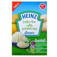 Bột ăn dặm Heinz gạo rau củ xay nhuyễn cho bé 4m+ 125g