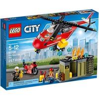 Mô Hình LEGO City Fire 60108 - Biệt Đội Cứu Hỏa