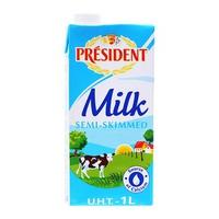 Sữa tươi tiệt trùng Président hộp 1L