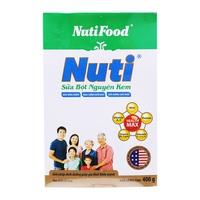 Sữa bột Nuti nguyên kem 400g