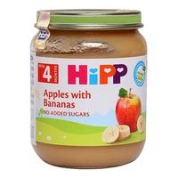 Dinh dưỡng đóng lọ Hipp chuối táo 125g 4m+