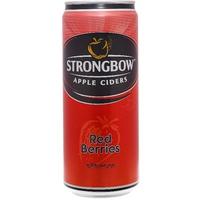 Nước táo lên men Strongbow dâu đỏ 330ml