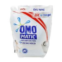 Nước giặt OMO Matic dịu nhẹ trên da dạng túi