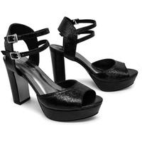 Giày Sandals Cao Gót Đúp 2 Dây Sulily SDV1-IV17