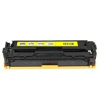 Mực in laser màu HP CF212A Dùng cho máy Pro M251NW/M276