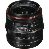 Ống kính Pentax DA HD 20-40mm F2.8-4 ED Limited DC WR