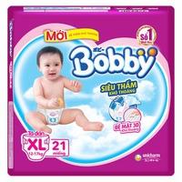 Tã dán Bobby XL21 (12-17kg)