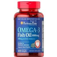 Viên Uống Dầu Cá Puritan's Pride Omega 3 Fish Oil 1000MG