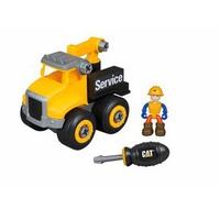 Đồ chơi lắp ráp CAT - Xe tải kéo và công nhân CAT80904