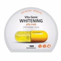 Mặt nạ dưỡng da trắng sáng và làm đều màu da Banobagi Vita Genic Whitening Jelly Mask (Vitamin C) 30ml