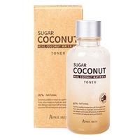 Dung dịch cân bằng April Skin Sugar Coconut Toner 120 ml