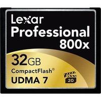 Thẻ nhớ LEXAR 32GB CF Professional 800x 120mb/s