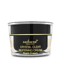 Kem trị nám dưỡng đêm Sakura Crystal Clear Whitening Night Cream 30g