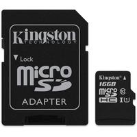 Thẻ nhớ MicroSDHC Kingston Class 10 16GB