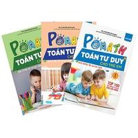 Pomath - Toán Tư Duy Cho Trẻ Em 4-6 Tuổi (Bộ 3 Cuốn)