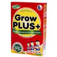 SỮA NUTIFOOD GROW PLUS+ 400G TRÊN 1 TUỔI CHO TRẺ THẤP CÒI