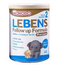 Sữa Wakodo Lebens 2 850G (12-36M)