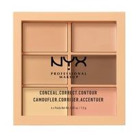 Che Khuyết Điểm NYX Professional Makeup Conceal Correct Contour Palette