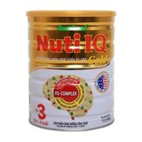 Sữa NutiFood NUTI IQ Gold Step 3 900g từ 1-2 tuổi