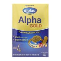 Sữa Dielac Alpha Gold số 4 400g từ 2-4 tuổi