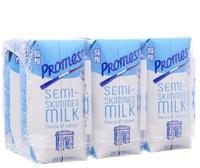 Sữa Tươi Nguyên Kem PROMESS 200ml Ít Béo Lốc 6