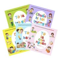 Combo Hướng Dẫn Thực Hành Kỹ Năng Sống Theo Phương Pháp Montessori (5 Cuốn)