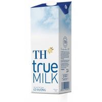 Sữa tươi tiệt trùng TH true milk có đường 1lít