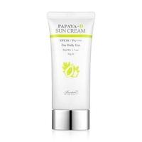 Kem chống nắng hằng ngày cho mọi loại da Benton Papaya-D Sun Cream SPF38 / PA+++ 50g