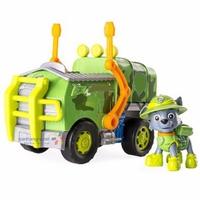 Mô hình xe cứu hộ Paw Patrol - Rocky sáng tạo