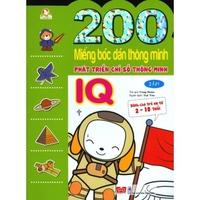 200 Miếng bóc dán thông minh - Phát Triển Chỉ Số Thông Minh IQ (Tập 1-2)