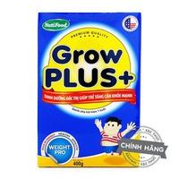 SỮA NUTIFOOD GROW PLUS+ 400G TRÊN 1 TUỔI CHO TRẺ TĂNG CÂN KHỎE MẠNH