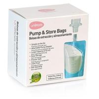 Túi trữ sữa mẹ trực tiếp từ máy hút sữa Unimom (10 túi/hộp)