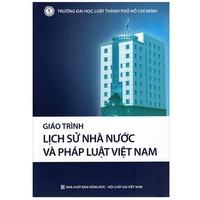 Giáo Trình Lịch Sử Nhà Nước Và Pháp Luật Việt Nam