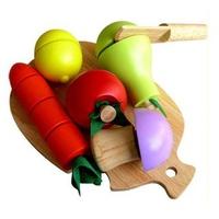 Đồ chơi gỗ Winwintoys 60032 - Bộ cắt 5 loại trái cây