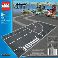 Mô Hình Lego City 7280 - Đường Thẳng Và Giao Lộ