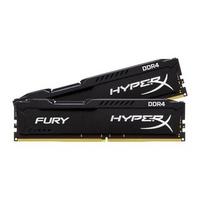 RAM Kingston 8GB (2x4GB) DDR4 Bus 2400Mhz Fury HyperX Black HX424C15FBK2/8