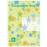 Sổ Klong Composition Book 958 A4