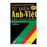 Từ Điển Anh - Việt (30000 Từ)