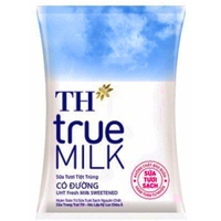 Sữa tươi tiệt trùng TH true milk  có đường 220ml