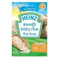 Bột ăn dặm Heinz Gạo xay nhuyễn 100g 4m+