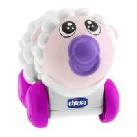 Đồ chơi Chicco lăn bánh phát nhạc hình cừu trắng
