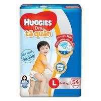 Tã Quần Huggies Dry L54 (9-14kg)