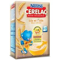 Bột ăn dặm Nestle lúa mì sữa 200g trên 6 tháng