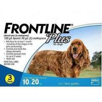 Hộp Frontline Plus trị ve 10-20kg