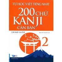 Tự Học Viết Tiếng Nhật - 200 Chữ Kanji Căn Bản (Tập 1-2)