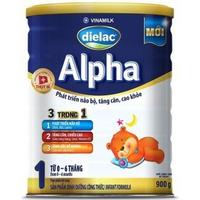 Sữa Dielac Alpha số 1 900g 0 - 6 tháng