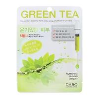 Mặt nạ trà xanh Dabo First Solution Mask Pack Green Tea