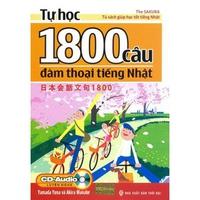 Tự Học 1800 Câu Đàm Thoại Tiếng Nhật