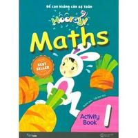 Hooray Math - Để Con Không Còn Sợ Toán (Activity Book 1-4)
