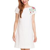 Đầm Linen Thêu Hity DRE005